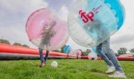 Bubbelvoetbal uitje Amsterdam