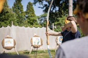 Archery zeskamp Amsterdam