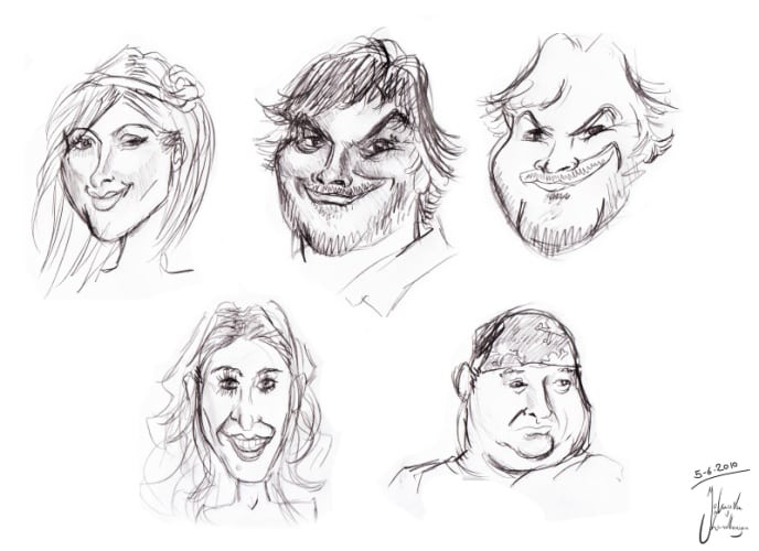 Karikatuur tekenen workshop Bedrijfsuitje Amsterdam