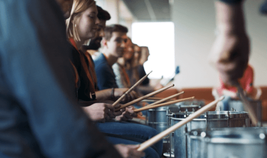 Percussion Workshop Amsterdam corporate event