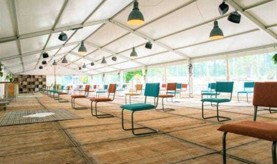 Beachclub 1 theateropstelling 1,5 meter