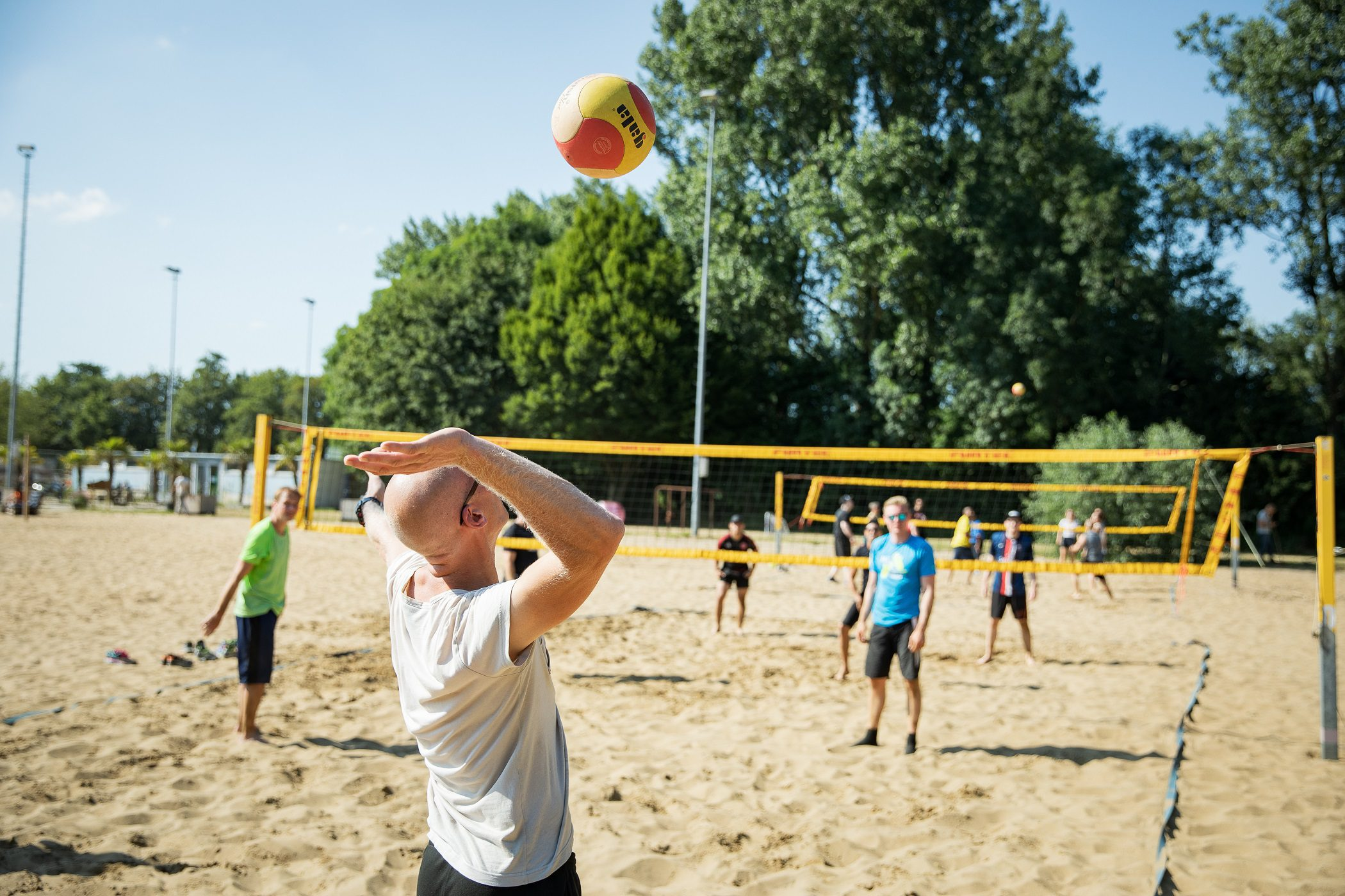Beachvolleyball amsterdam