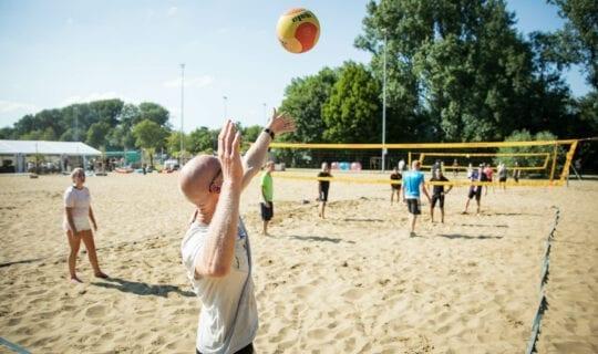 Upevents Beachvolleyball Amsterdam