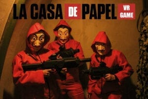 Top 5 Suggestions for a New Year's company party Casa de Papel