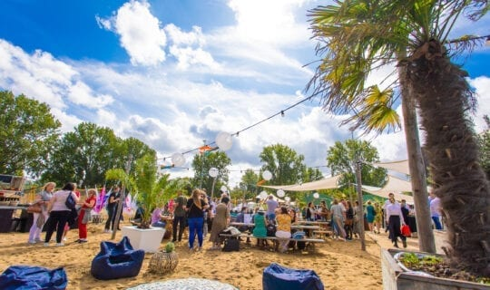 Festival up events beachclup feest