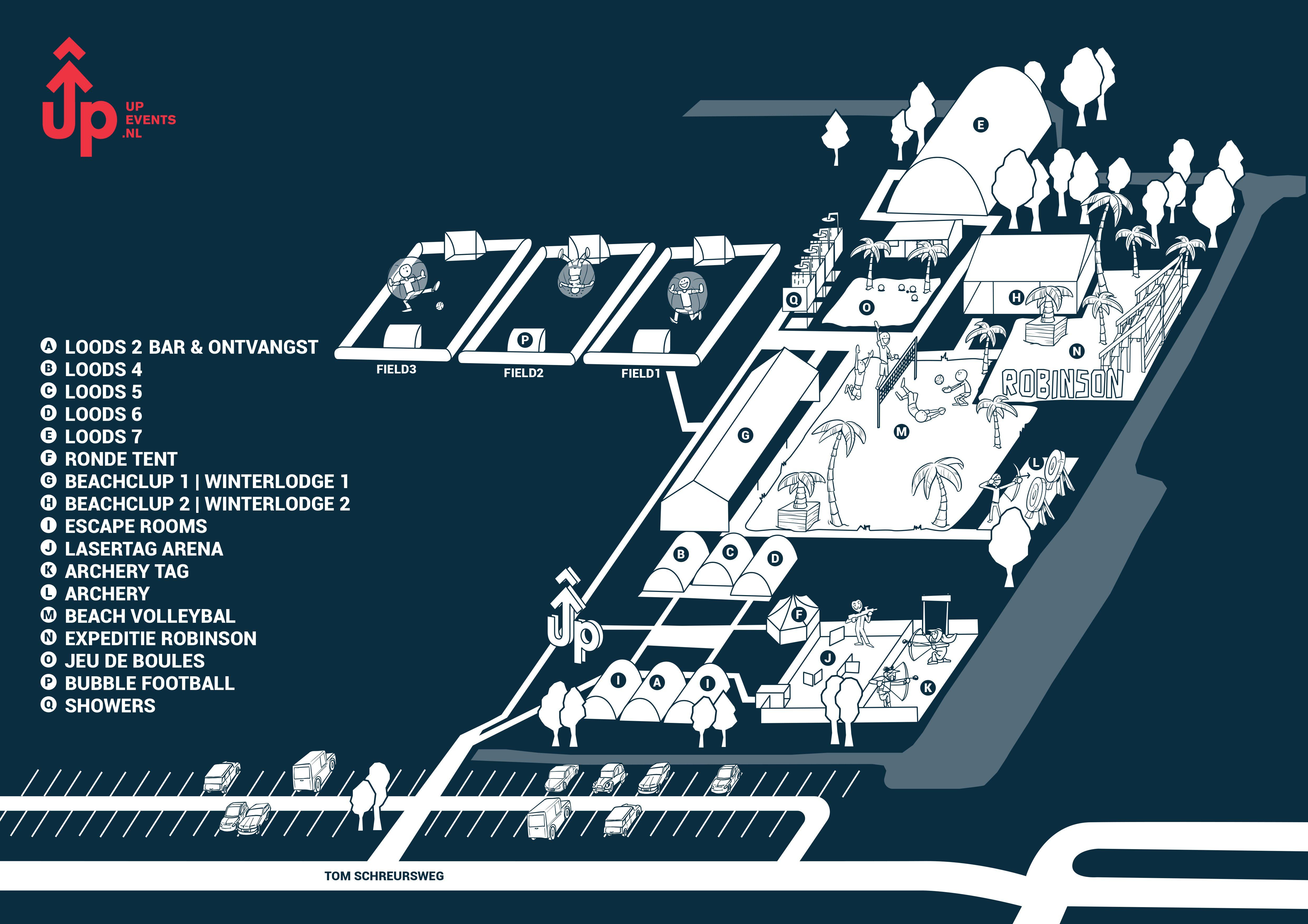 Floorplan UP Events Amsterdam