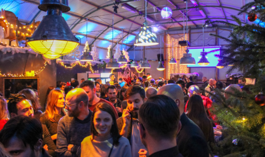 Bedrijfskerstfeest Amsterdam loods 7