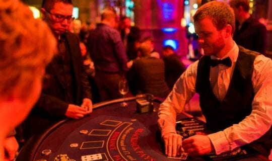 Casino Company Party Amsterdam Black Jack