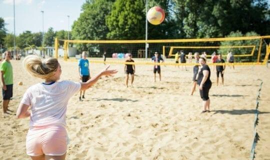 Stranduitje Amsterdam Beachvolleybal Uitje