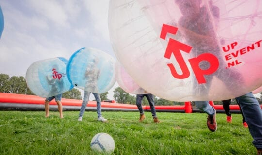 Team Outing Amsterdam Bubble Football