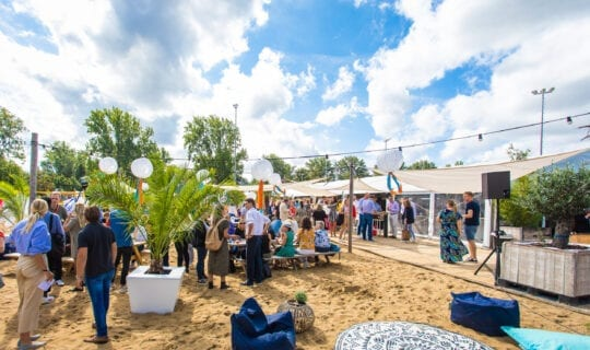Trouwfeest in Amsterdam Beachclub