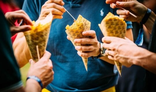 Cone of fries Event Amsterdam